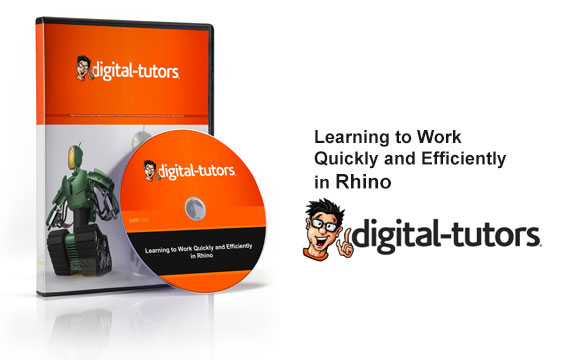 دانلود فیلم آموزشی Learning to Work Quickly and Efficiently in Rhino